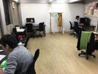 デザインスクールの自習室