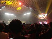 WWE NXT@大阪に行ってきました。